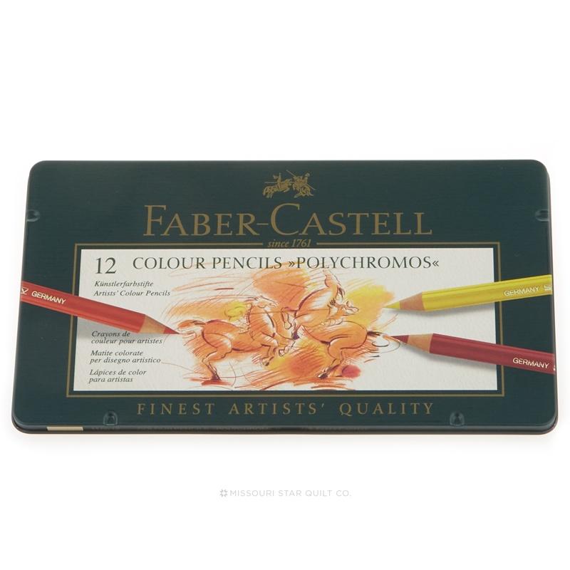 Polychromos Color Pencils - 12 colors