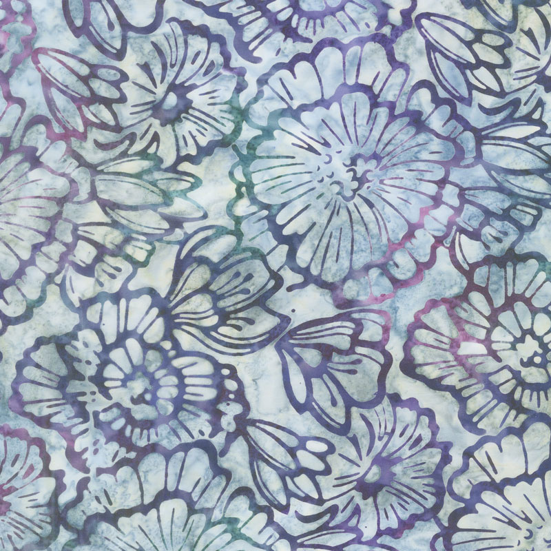 Artisan Batiks - Terrace Flowers Jewel Yardage