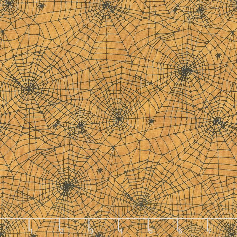 Raven's Claw - Spider Web Orange Yardage