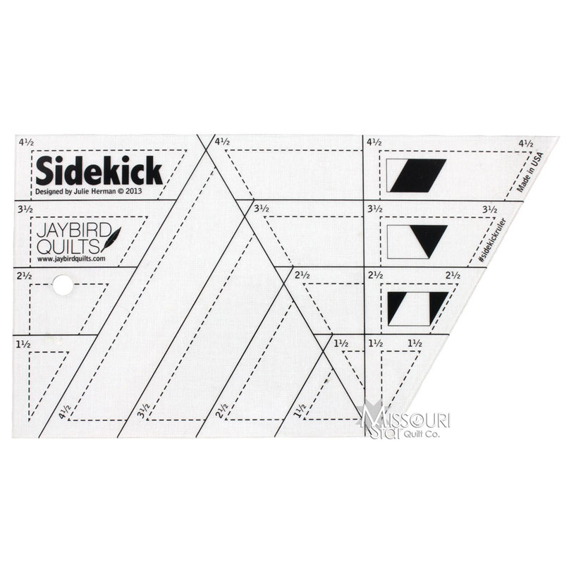 Sidekick Ruler Jaybird Quilts Missouri Star Quilt Co