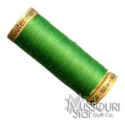 Gutermann 50 WT Cotton Thread Apple Green
