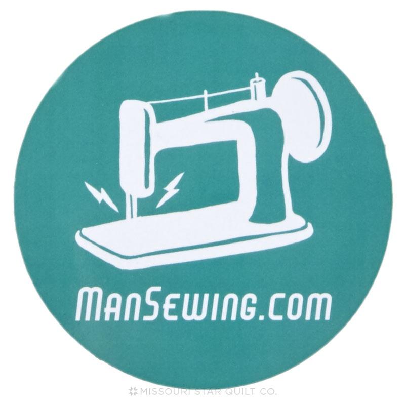 Man Sewing Magnet - Sewing Machine Blue