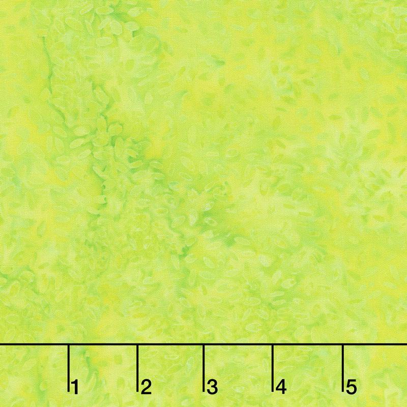 Kismet Batiks - Seeds Lemon Lime Yardage