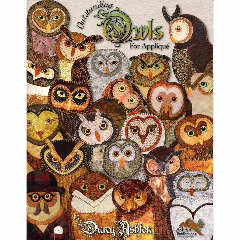 Outstanding Owls for Applique Book