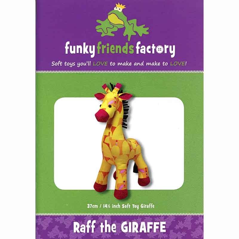 Raff Giraffe Funky Friends Factory Pattern