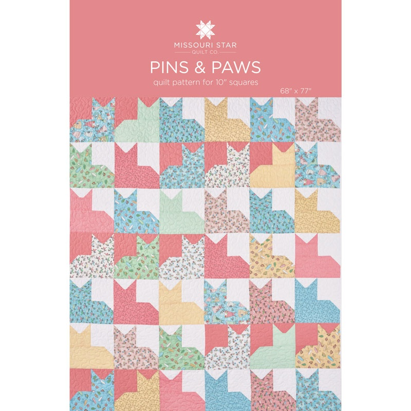 Pins Paws Quilt Pattern By Missouri Star Missouri Star Quilt Co