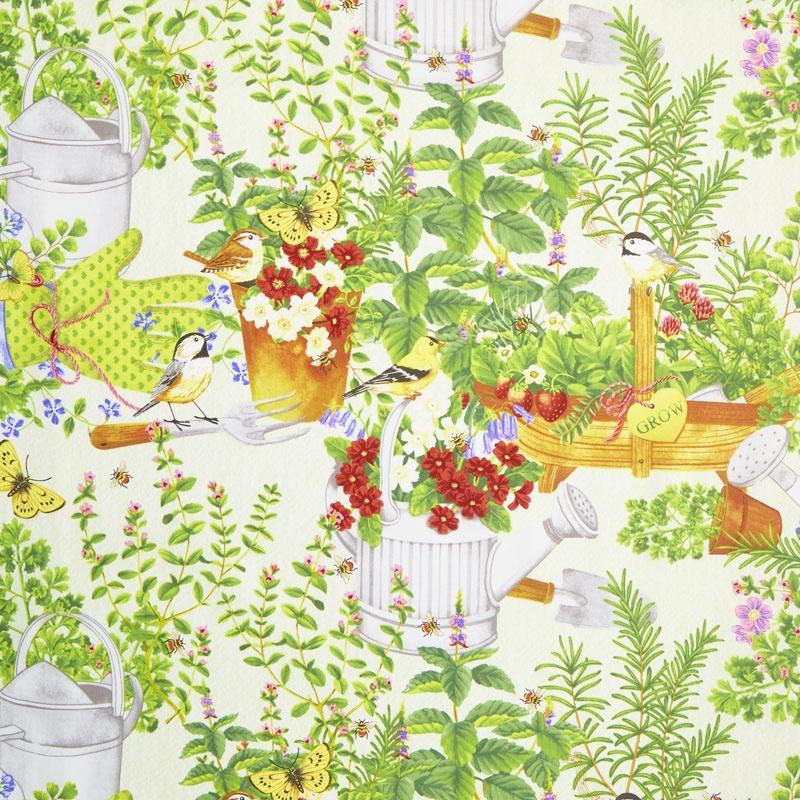 From the Garden - Garden Scenic Multi Yardage
