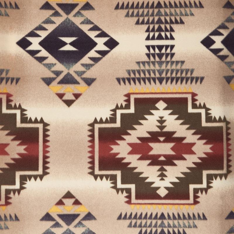 Winterfleece Prints Southwest - Windrunner Tan Fleece Yardage