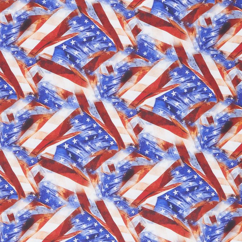 Lady Liberty - Flags Multi Yardage