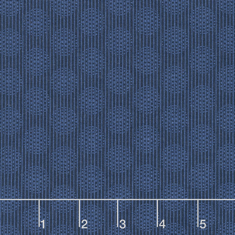 Wilmington Essentials - In the Navy Circles and Stripes Navy on Navy Yardage