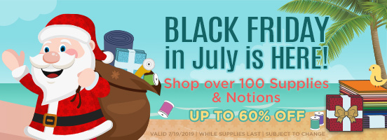 Black Friday in July is Here!