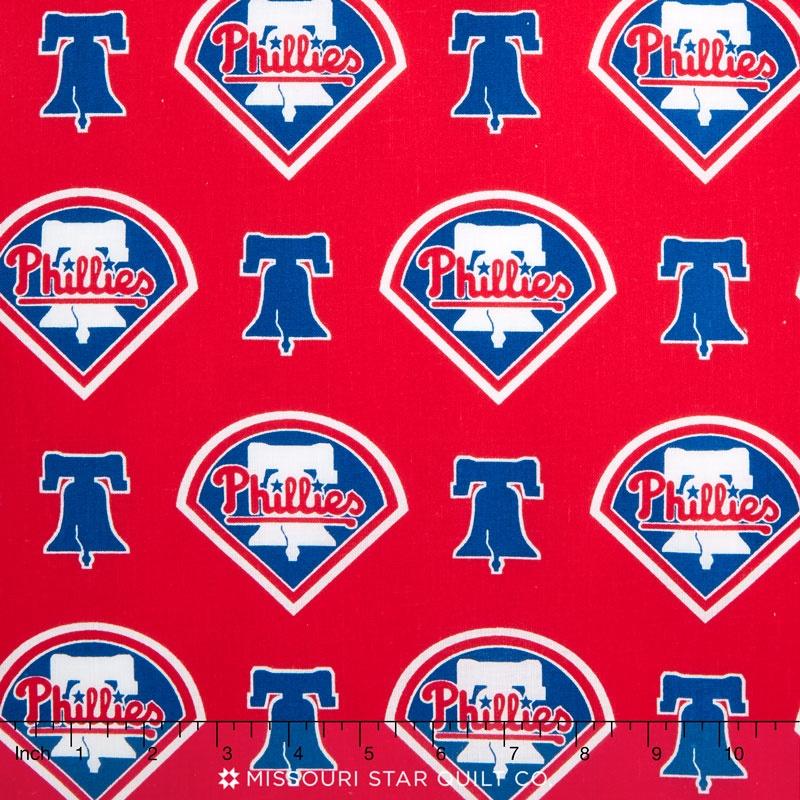 MLB Major League Baseball - Philidelphia Phillies Allover Yardage