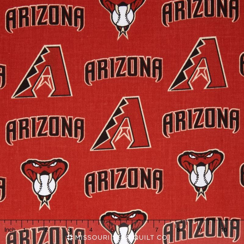 MLB - Arizona Diamondbacks Red Yardage