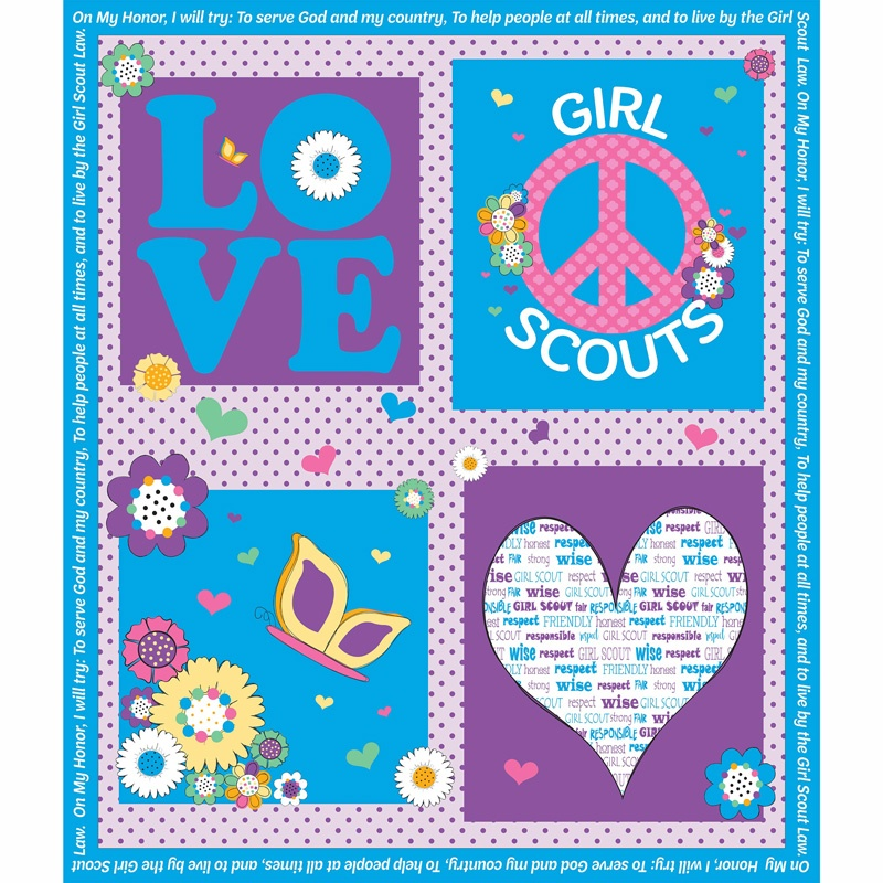 Girl Scouts - Girl Scout Blue Panel