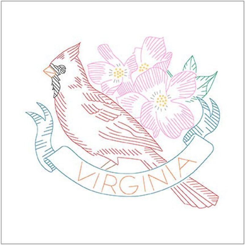 Birds of Liberty - Virginia Digitally Printed Panel