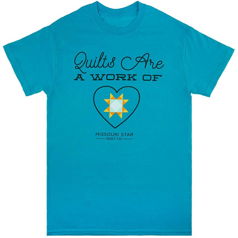 Missouri Star Work of Heart T-Shirt - XL