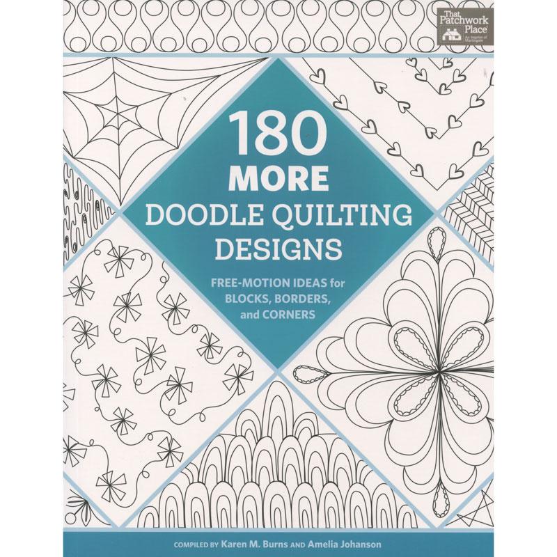 180 More Doodle Quilting Designs Book