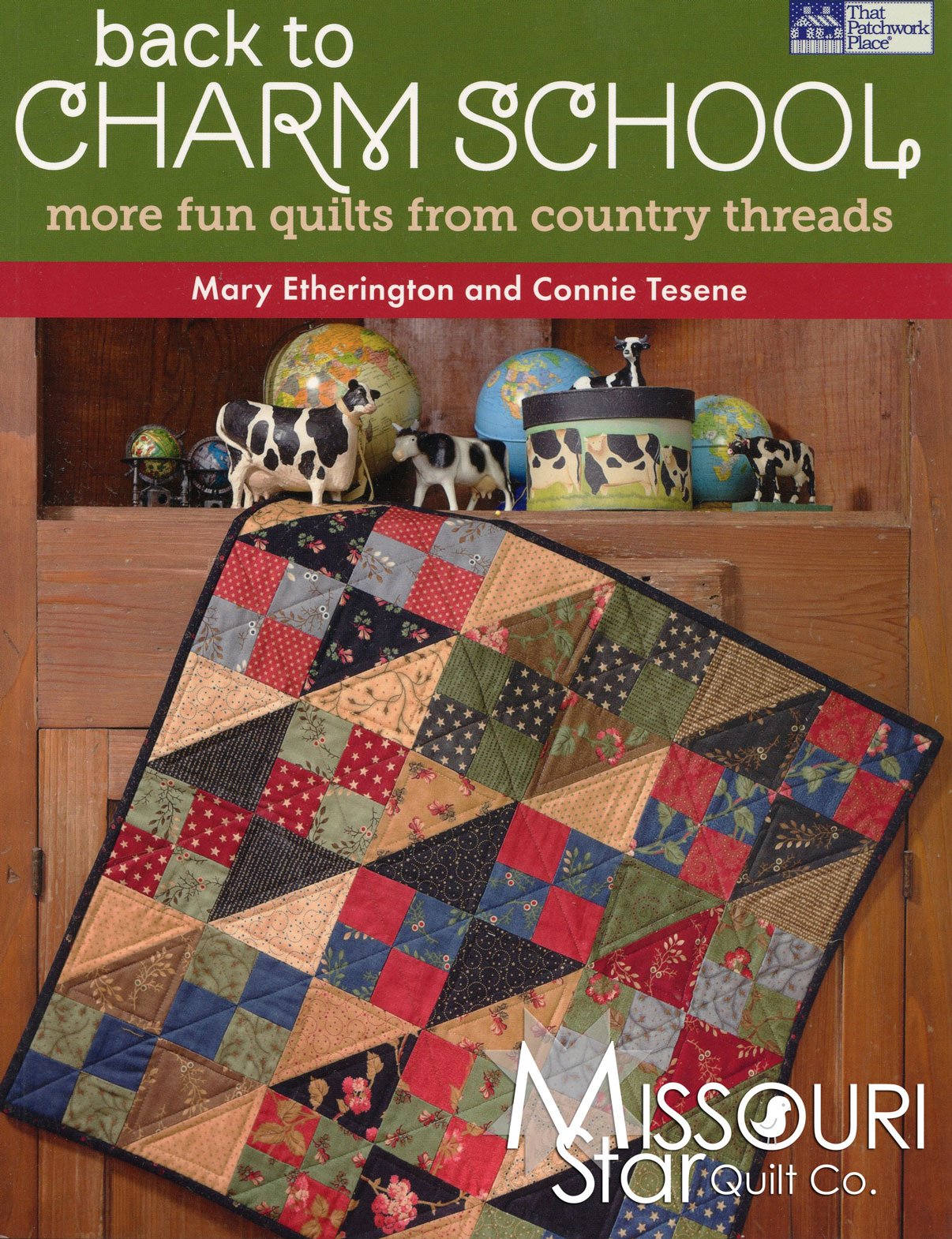 Back to Charm School Book for That Patchwork Place