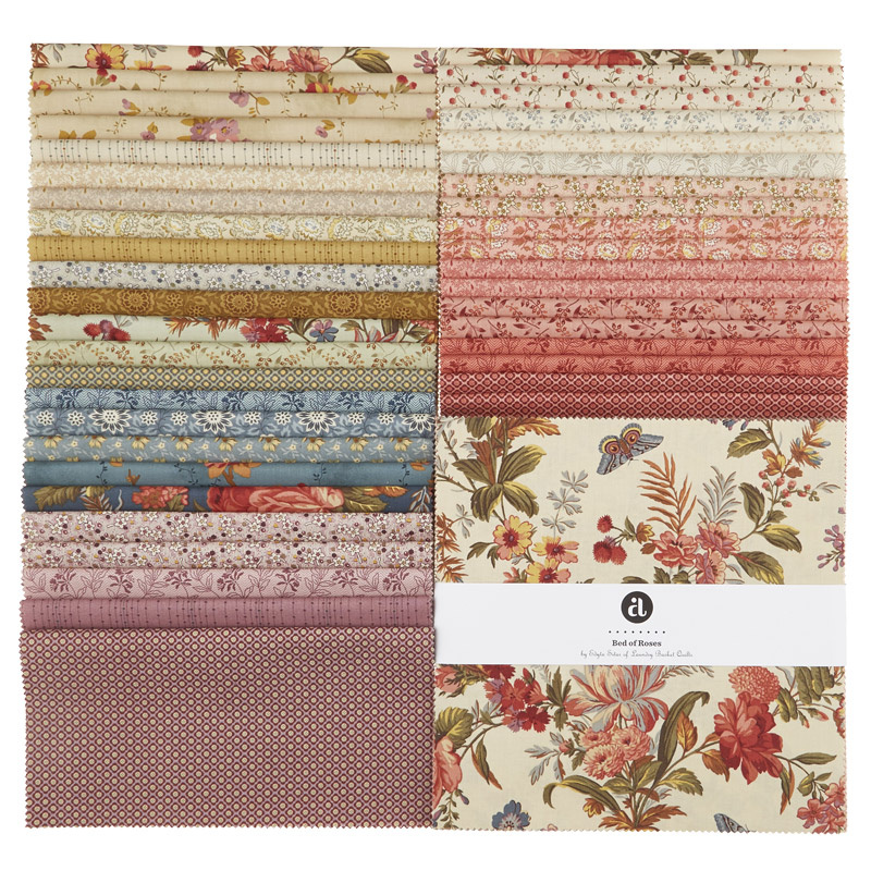 Bed Of Roses Sundaes Edyta Sitar Of Laundry Basket Quilts