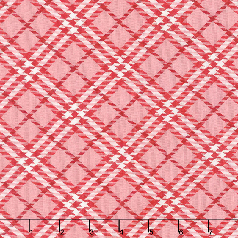 All-Weather Friend - Flannel Shirt Apple Red Yardage