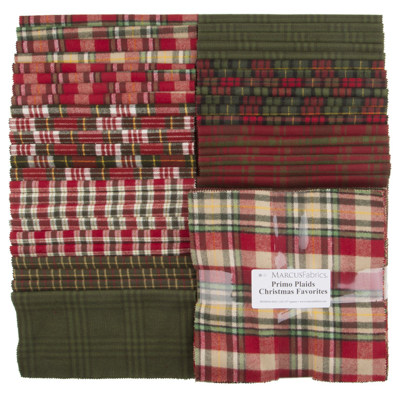 Primo Plaids Christmas Favorites Yarn Dyed Flannel 10
