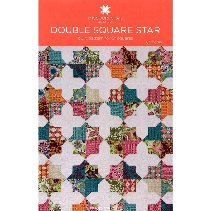 Double Square Star Pattern by MSQC - MSQC - MSQC — Missouri Star ... : missouri star quilt pattern - Adamdwight.com