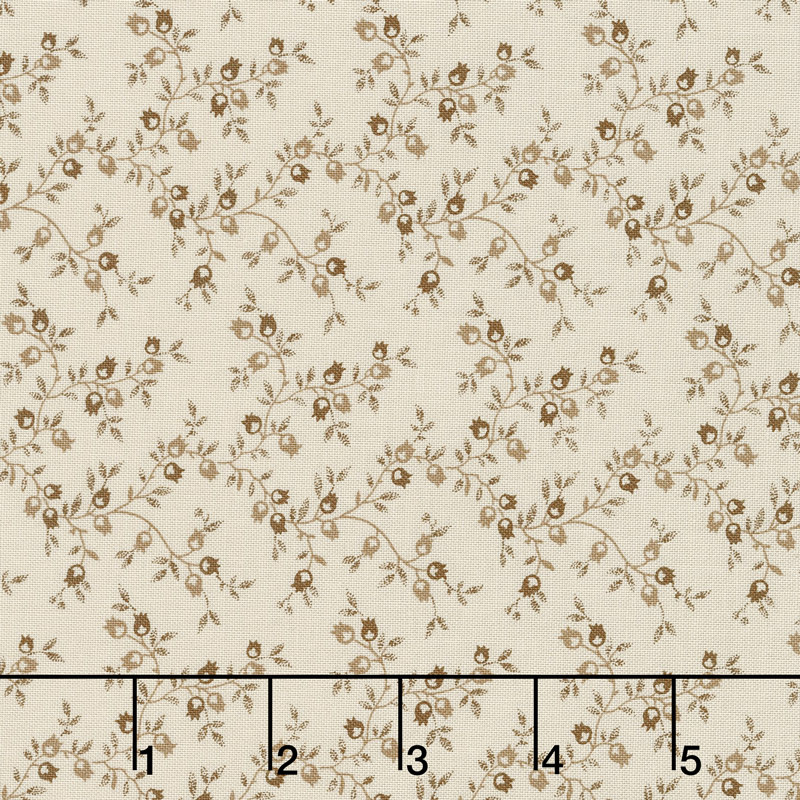 Jo's Shirtings - Pomegranate Latte Yardage