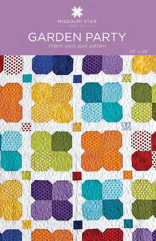 Digital Download - Garden Party Quilt Pattern by MSQC - MSQC ... : missouri quilt company patterns - Adamdwight.com