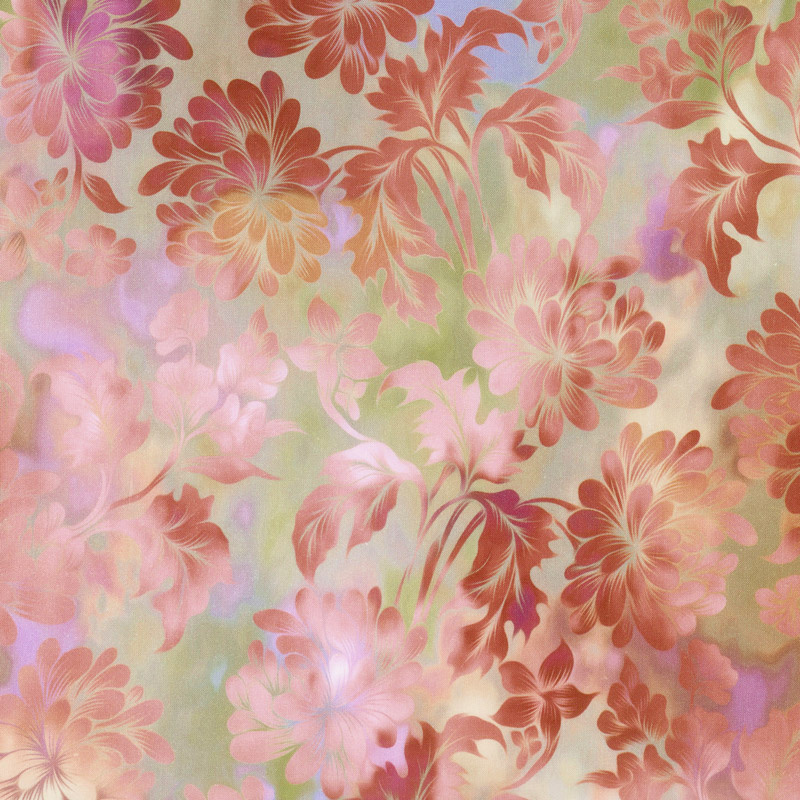 Diaphanous - Daydream Blush Digitally Printed Yardage