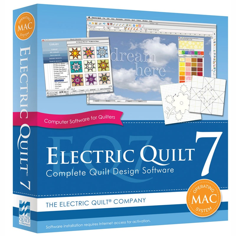 Electric Quilt 7 Design Software - Electric Quilt Company ... : the electric quilt company - Adamdwight.com