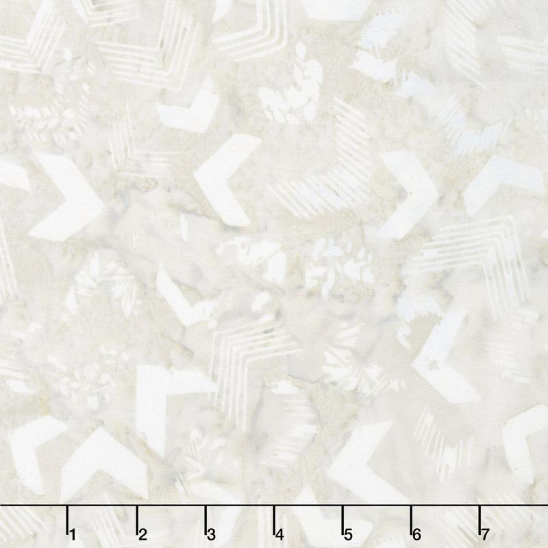 Tonga Batiks - United Linen White Yardage