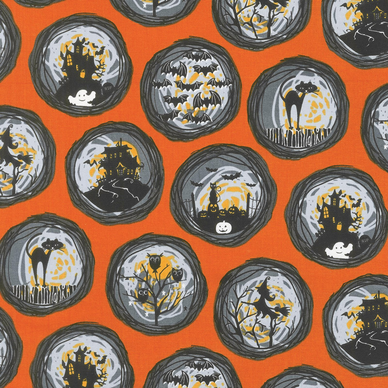 Bats and Black Cats - If You've Got It, Haunt It Orange Yardage