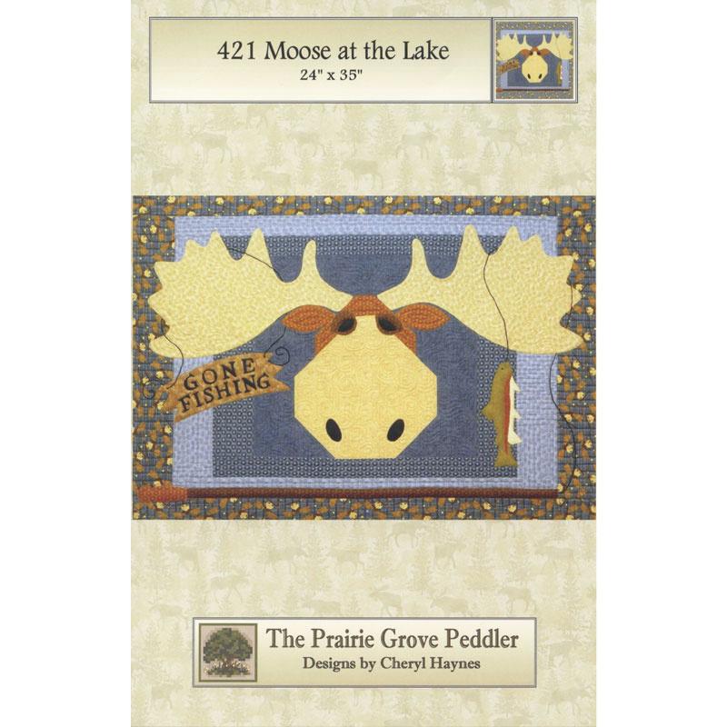 Moose at the Lake Pattern