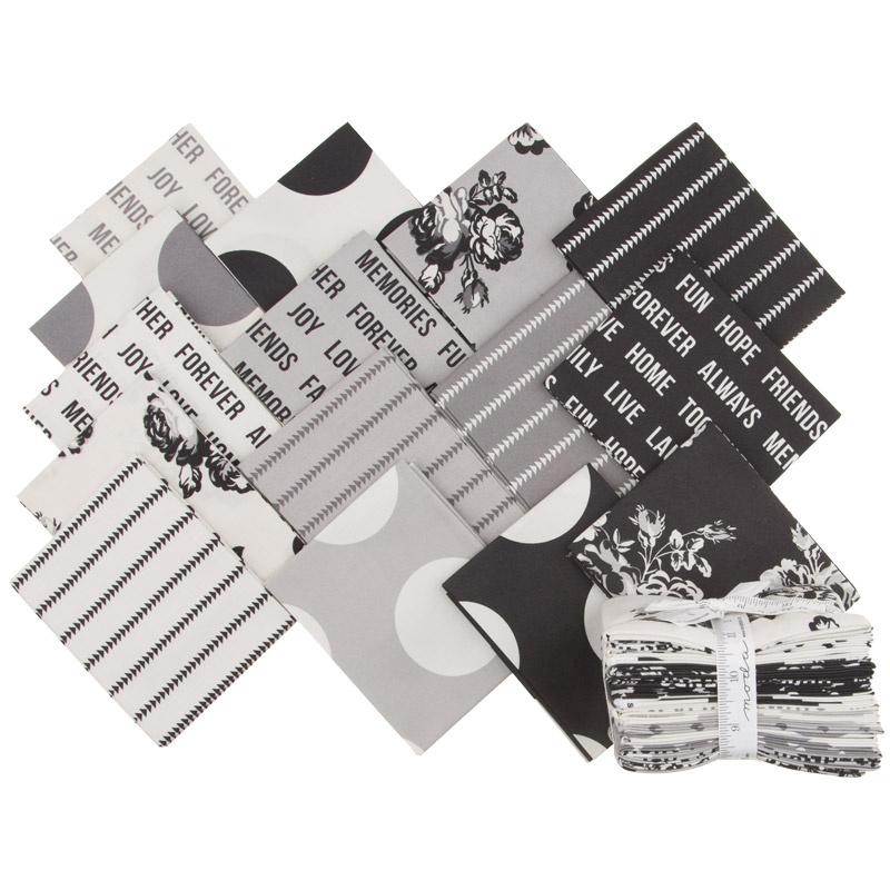 Urban Cottage Cotton Prints Fat Quarter Bundle