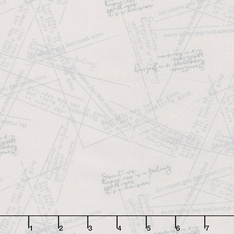 Modern Backgrounds More Paper - Happy Fog Yardage