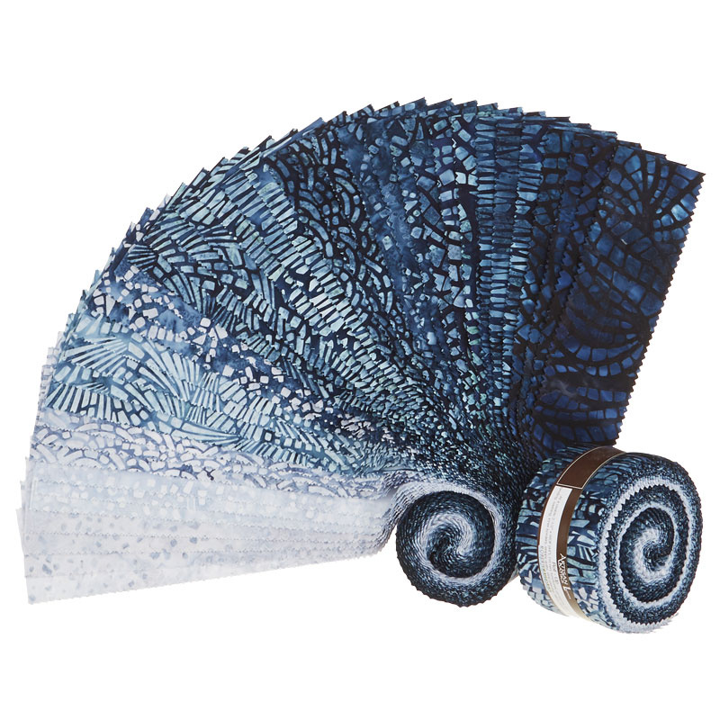Artisan Batiks - Natural Formations 3 Rain Roll Up