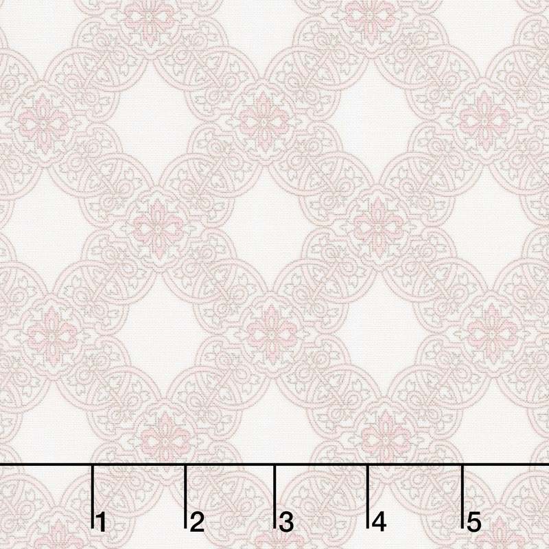 Rose Garden - Tile Cream Yardage