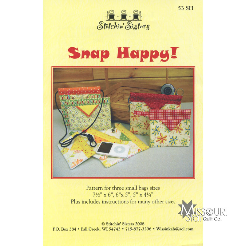 Snap Happy Bag Pattern