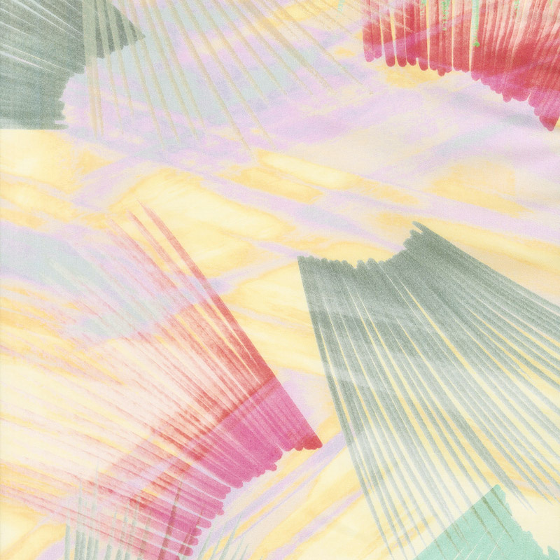 Plume - Feather Texture Pastel Digitally Printed 108