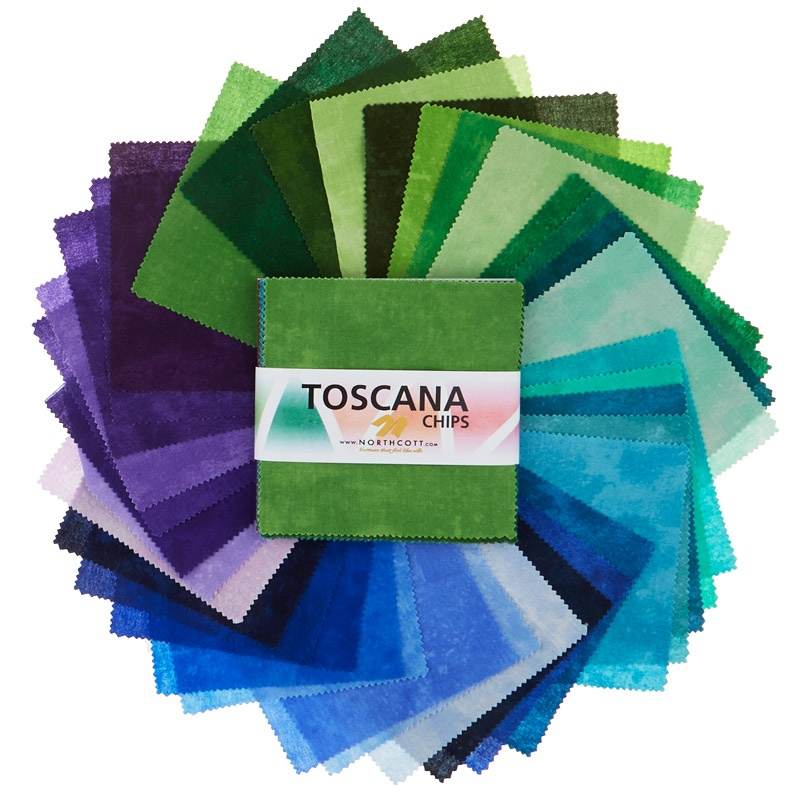 Toscana Peacock Chips