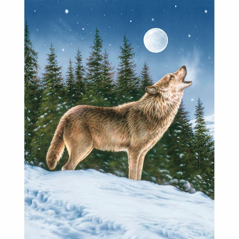 Majestic Outdoors - Majestic Wolf Multi Digitally Printed Panel