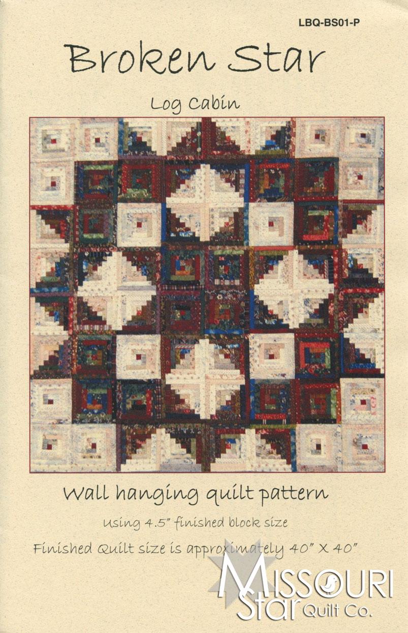Broken star log cabin pattern edyta sitar of laundry basket quilts broken star log cabin pattern baditri Images