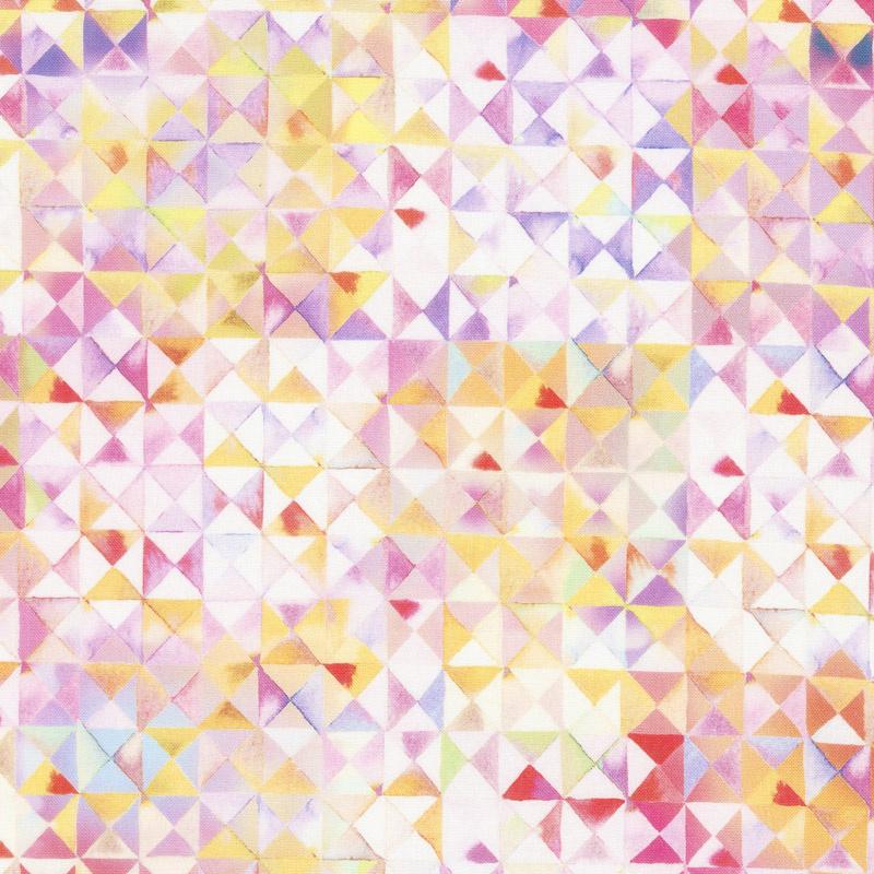 Gradients 2 - Parfait Triangles Digitally Printed Yardage