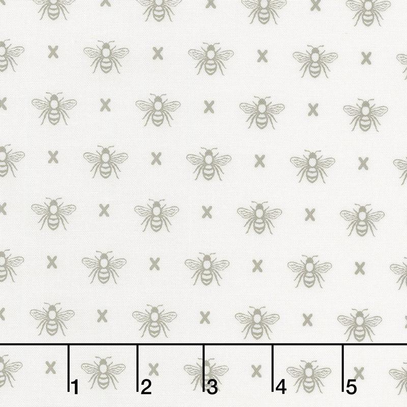 Garden Variety - Queen Bee Cloud Yardage