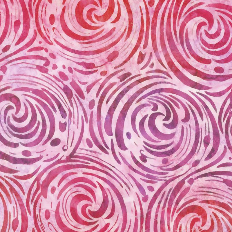 Artisan Batiks - Artful Earth Churn Hot Pink Yardage