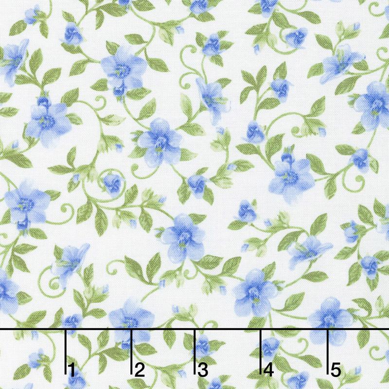 My Sunflower Garden - Vine White/Multi Yardage