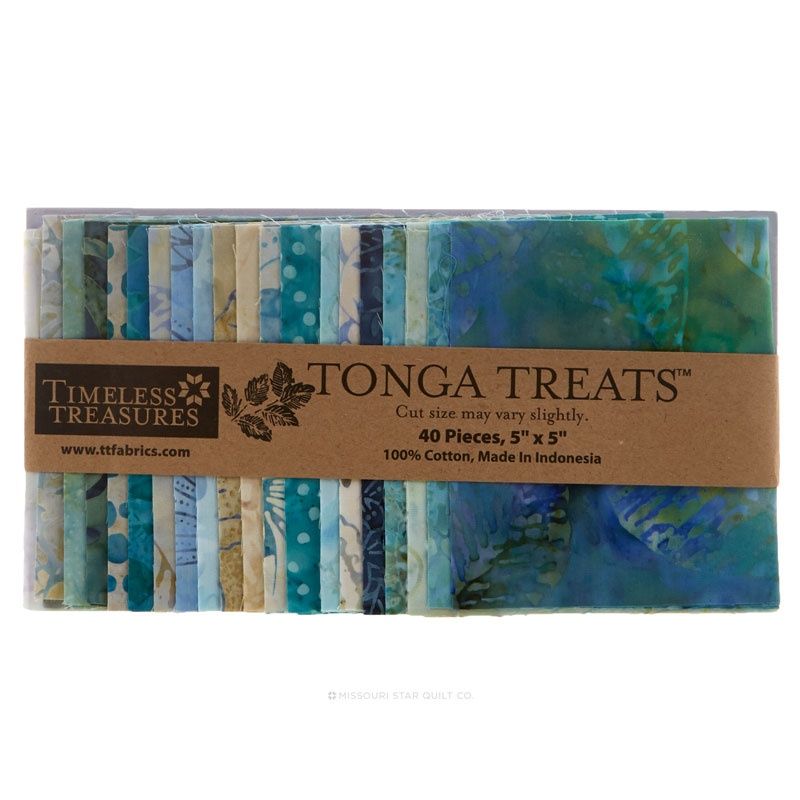 Tonga Treats Batiks - Surf Charm Pack