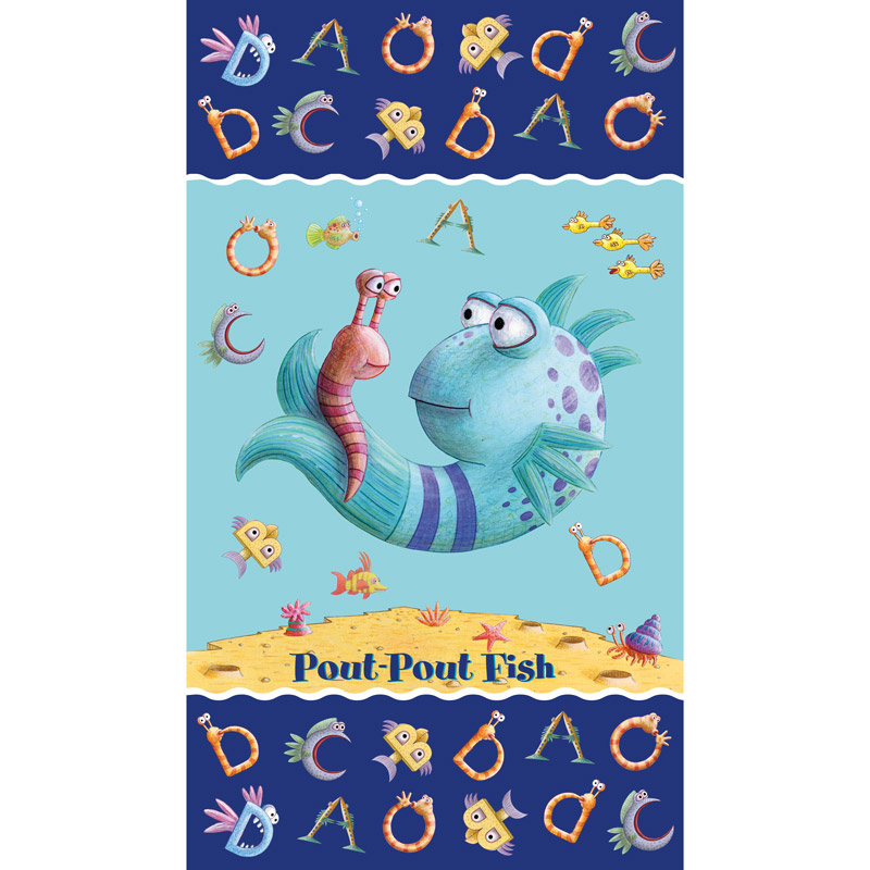 The Pout Pout Fish - Multi Panel