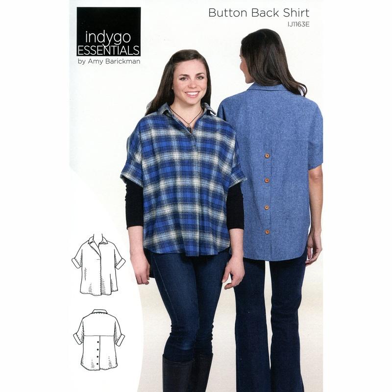 Button Back Shirt Pattern