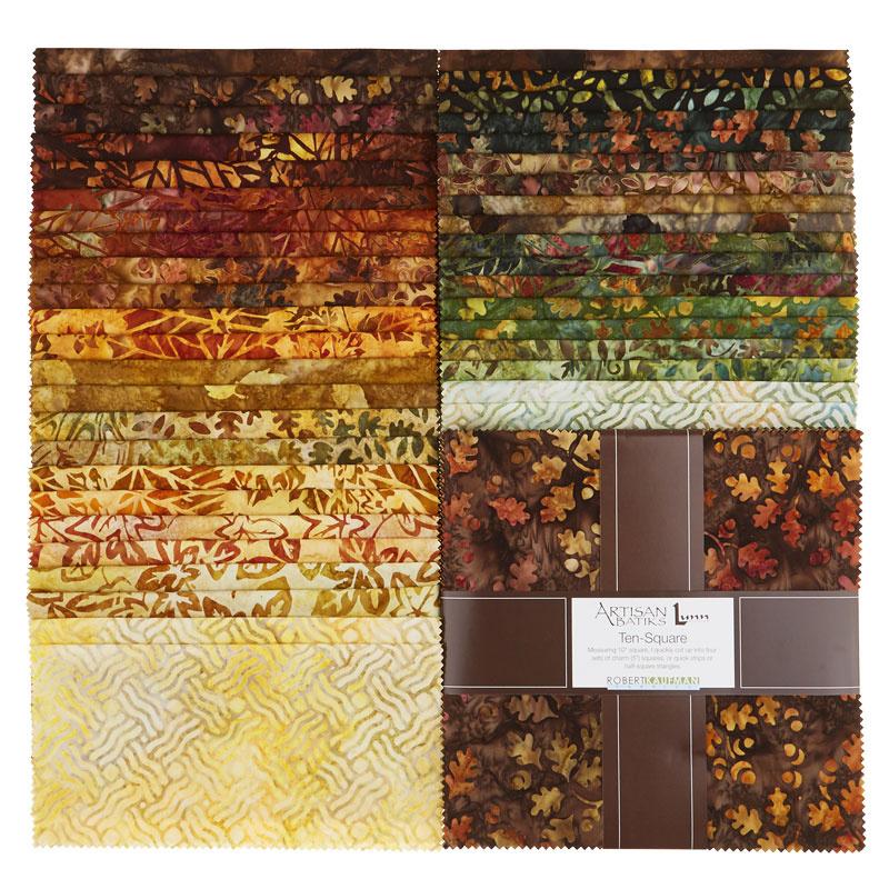 Artisan Batiks - Cornucopia 10 Ten Squares